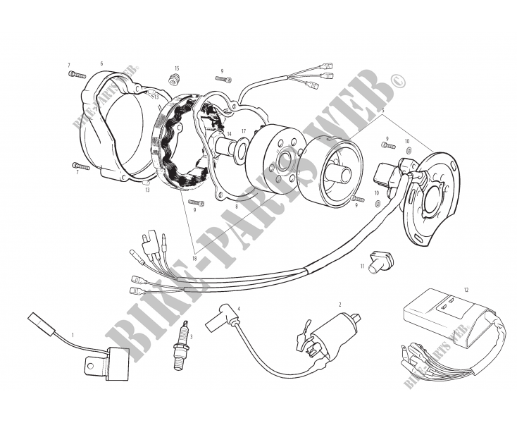 Motorcycle Ignition Wiring