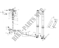FRONT SUSPENSION for GASGAS EC 300 F RACING (ECF 4Temps) 2015