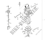 CARBURETOR for GASGAS EC 125 2006