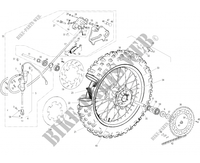 REAR WHEEL / BRAKE for GASGAS EC 125 2006