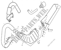 EXHAUST for GASGAS TXT PRO 125 2007