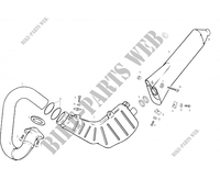 EXHAUST for GASGAS TXT PRO 200 2003