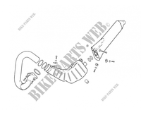EXHAUST for GASGAS TXT PRO 200 2005