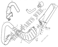 EXHAUST for GASGAS TXT PRO 200 2007
