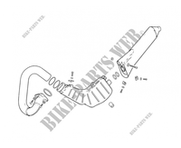 EXHAUST for GASGAS TXT PRO 250 2005