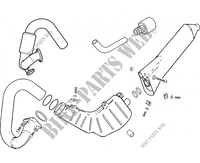 EXHAUST for GASGAS TXT PRO 250 2006