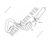 EXHAUST for GASGAS TXT PRO 280 2005