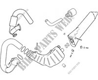 EXHAUST for GASGAS TXT PRO 280 2006