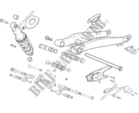 SWINGARM for GASGAS TXT PRO 280 2006