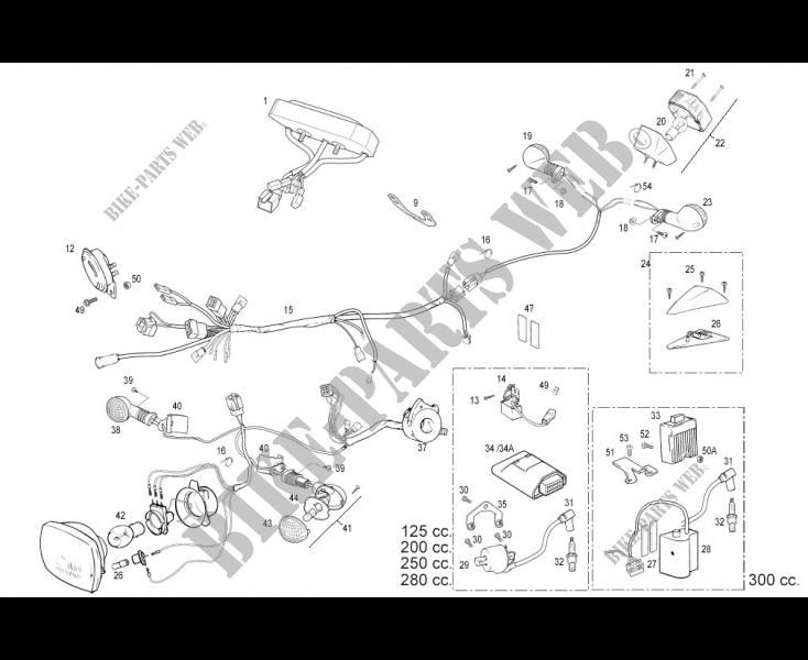 GAS-GAS TXT PRO 280 2011-2012 BPR5ES BOUGIE NGK