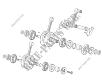 CRANKSHAFT for GASGAS EC 250 2005