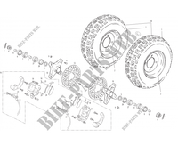 FRONT WHEEL for GASGAS WILD HP 450 2003