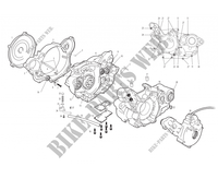 LEFT CRANKCASE for GASGAS WILD HP 450 2003