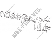 WATERPUMP for GASGAS WILD HP 450 2003