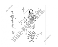 CARBURETOR for GASGAS EC 300 2007