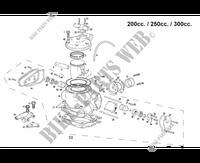 GASGAS ME25944011 Joint entrée d/'eau culasse GAS GAS