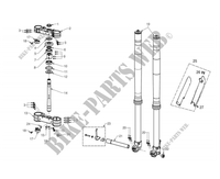 FRONT SUSPENSION for GASGAS EC 300 RACING 2012