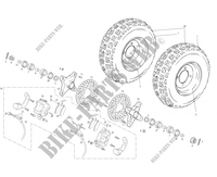 FRONT WHEEL for GASGAS WILD HP 450 2005