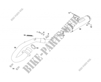 EXHAUST for GASGAS WILD HP 450 2007