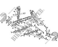 FRONT SUSPENSION for GASGAS WILD HP 450 2007