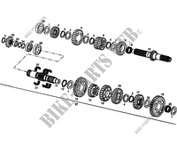 GEARBOX for GASGAS WILD HP 450 2007