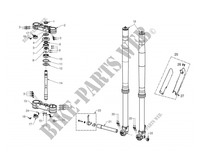 FRONT SUSPENSION for GASGAS EC 250 2012