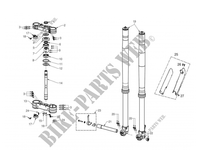 FRONT SUSPENSION for GASGAS EC 300 2012