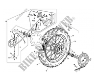 REAR WHEEL / BRAKE for GASGAS EC 300 2012