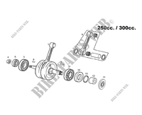 CRANKSHAFT for GASGAS EC 250 E (E-START) 2013