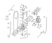 CARBURETOR for GASGAS EC 300 E (E START) 2012