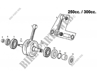 CRANKSHAFT for GASGAS EC 300 E (E START) 2012