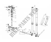 FRONT SUSPENSION for GASGAS EC 300 E (E START) 2012